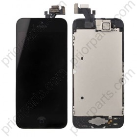 For iPhone 5 display LCD Screen Assembly with small parts Black