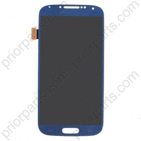 OEM LCD Screen Assembly with digitizer for Samsung Galaxy S4 i9500 blue
