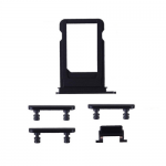 New All Side Button Set SIM Card Tray Volume Power Mute Button Replacement Parts For iPhone 7 Plus 5.5Inch