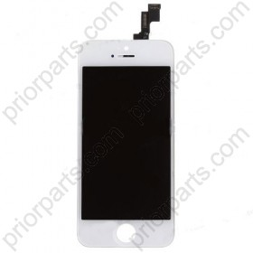 For iPhone 5S LCD Screen Assembly replacement white Grade T