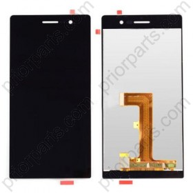 New Full Lcd Screen Display For Huawei P7 With Touch Digitizer Assembly For P7 Black