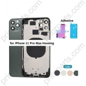 for iPhone 11 Pro Max Back Battery Cover Rear Housing Door With Middle Frame