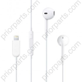White lightning Digital Earphones For iPhone 7/7plus Earpods headset with Remote and microphone