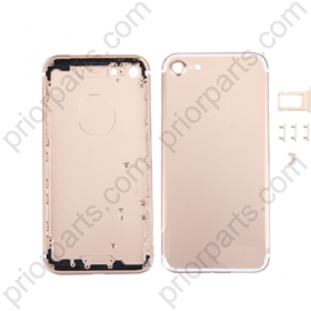 For Iphone 7 4.7inch  housing battery Door back cover Gold