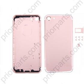For Iphone 7 4.7inch  housing battery Door back cover Rose Gold