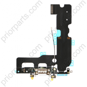 For iPhone 7 Plus 5.5''  Charging Port Flex Cable Charging dock assembly White