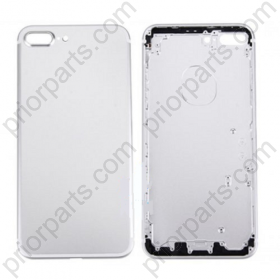 For Iphone 7 plus 5.5inch  housing battery Door back cover Silver