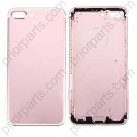 For Iphone 7 plus 5.5inch  housing battery Door back cover Rose Gold
