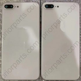 Back Battery Glass With Frame for iPhone 8 Plus Full Housing Cover Door Assembly