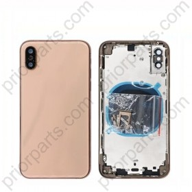 for iPhone XS Back Battery Cover Assembly With Middle Frame