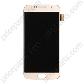 For Samsung Galaxy S6 g920 lcd display assembly Gold