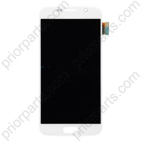 For Samsung Galaxy S6 G920 Lcd Display Assembly White Front Lcd for SM-S6