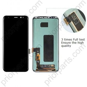 For Samsung Galaxy S8 G950 LCD Display Touch Screen Digitizer Assembly Black