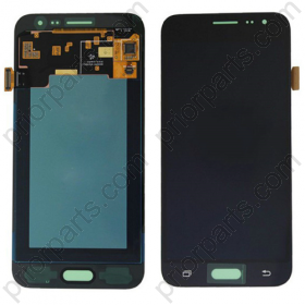 Front lcd display for Samsung J3 black