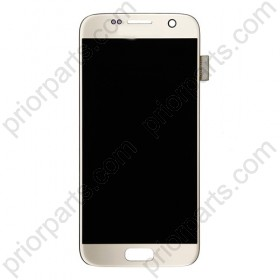 For Samsung Galaxy S7 G9300 lcd display screen assembly Silver