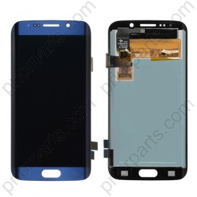 For Samsung Galaxy S6 Edge g925 glass screen Blue