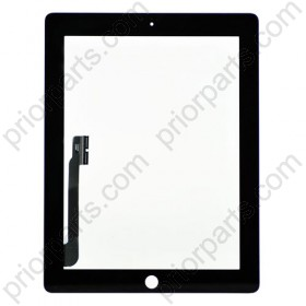 For iPad 3 Digitizer Touch Screen Black