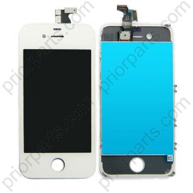 for iPhone 4 LCD Screen Assembly With Digitizer White