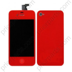 For iPhone 4S LCD Digitizer Assembly Conversion Kit Red