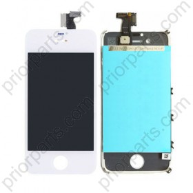 for iPhone 4S LCD Display Screen Digitizer Touch Assembly White
