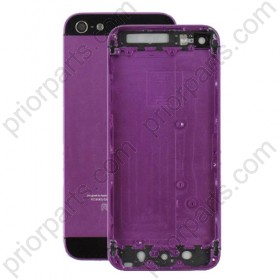 for iPhone 5 Back Housing Cover Middle Chassis Purple