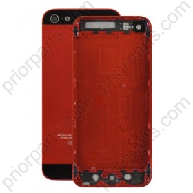 for iPhone 5 back housing cover replacement red