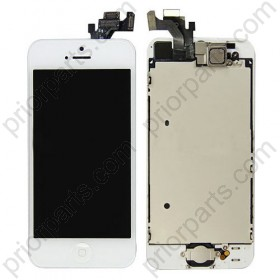 For iPhone 5 LCD digitizer assembly with small parts White