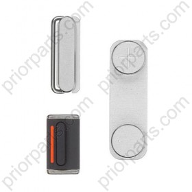 For iPhone 5 Power Mute Volume Button white