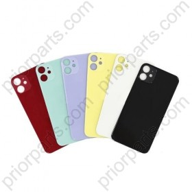 Back Glass for iPhone 11 Rear Cover Door Panel 6.1''Inch
