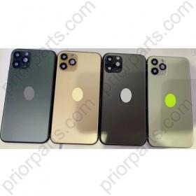 for iPhone 11 Pro Back Housing Cover With Charging Port Flex Motor Cable Full Flex Assembly