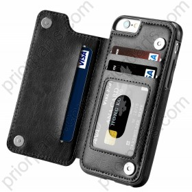for iPhone 8 Leather Wallet Case With Card Holder Hot 2019 for Apple 8 4.7Inch