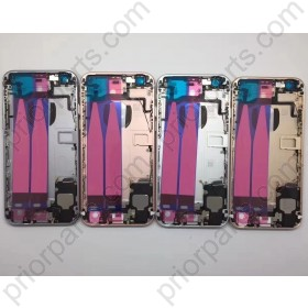 for iPhone 8 Back Housing Cover With Full Flex Cable Charging Port Motor And All Small Parts Real Door 4.7''