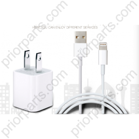 Charger Plug and USB Cable full Set  for Apple for iPhone 6 7 8 Plus 6s X XS XR XS Max for iPad iPod fast charge quick speed 2A safe American Version