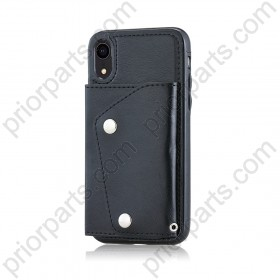 iphone XR leather cover case