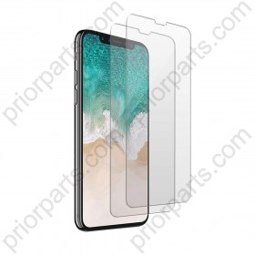 for iPhone XR Tempered Glass Screen Protector Film (2-Pack)Touch Sensitive