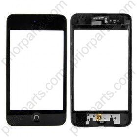 for iPod Touch 3rd Gen Digitizer Touch screen home button frame bezel assembly