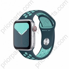 for iWatchband Liquid Silicone iWatch Strap Sport Double Color Nike Chain