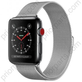 for Apple iWatch Milanese Strap iWatch Chain Mirannis Metallic Stainless Steel Watchband