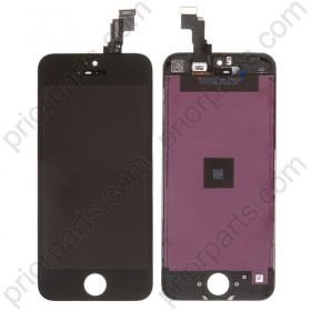For iPhone 5C LCD Screen Assembly with digitizer display Black