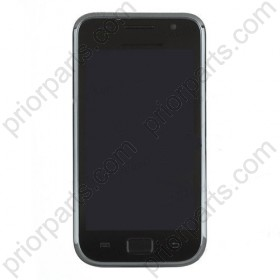 LCD and Digitizer Assembly with Front Housing for Samsung Galaxy S GT-i9000 Black