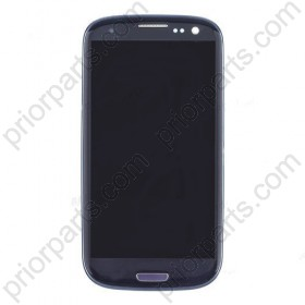 for Samsung Galaxy S3 i9300 LCD assembly with frame Blue