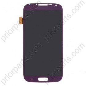 For samsung s4 i9500 lcd assembly with frame purple