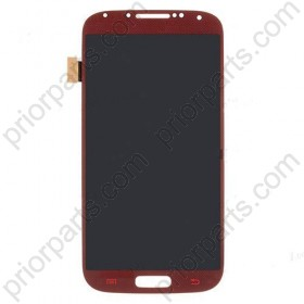 For Samsung Galaxy S4 i9500 LCD screen assembly Dark Red