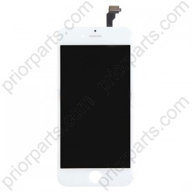 for iPhone 6 front display lcd screen assembly white 4.7 inch Grade T