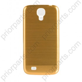 Metal Brushed Back Housing Cover for Samsung Galaxy S4 Gold