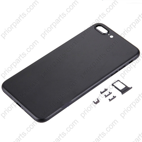 detailed look 37f07 f1f84 For Iphone 7 plus 5.5inch housing battery Door back cover Matte black