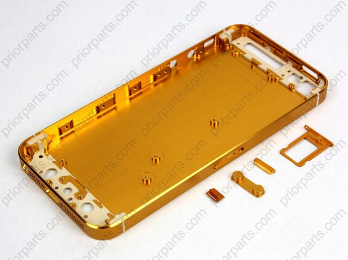 size 40 feadf a19eb for iPhone 5 Back Housing Cover Replacement Gold