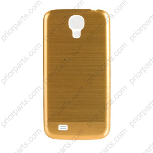 more photos 86040 adb97 Metal Brushed Back Housing Cover for Samsung Galaxy S4 Gold