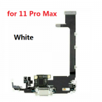 for iPhone 11 Pro Max Charging Port Dock Connector Flex Cable With IC And Mic Microphone