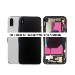 for iPhone X Back Cover Full Housing With Flex Cable Assembly